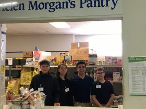 Our Lady of Lourdes Catholic School Student Service Day Pantry
